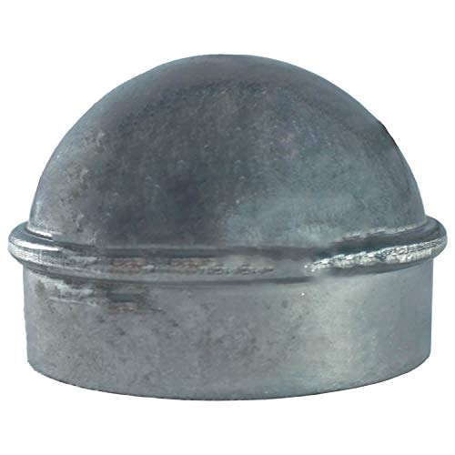"""4"""" Chain Link Fence Post Cap - Use for 4"""" Outside Diameter Post/Pipe - Aluminum Chain Link Post Cap"""