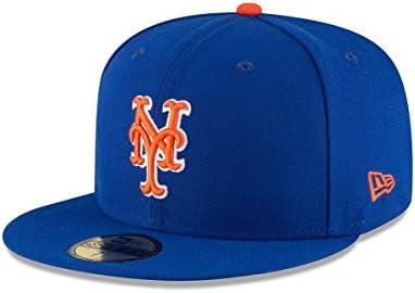 【メーカー取次】 NEW ERA ニューエラ 59FIFTY MLB On-Field ニューヨーク・メッツ ブルーXオレンジ ホワイトライン 11676935 キャップ
