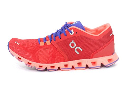 Su Running Womens Cloud X Scarpa Rossa / Flash