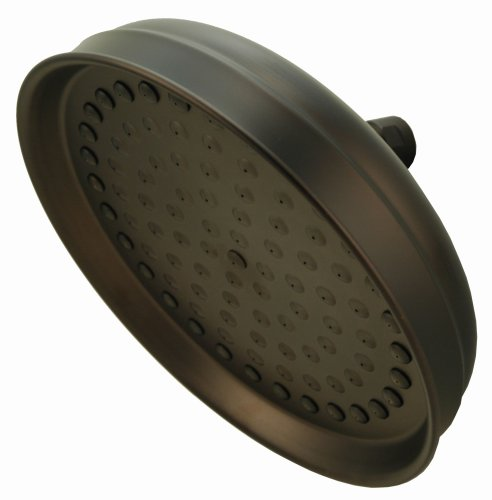 """8"""" Rain Shower Heads, Oil Rubbed Bronze Finish - by Plumb..."""