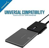 Sabrent Convertidor de Disco Duro USB 3.0 a SSD/SATA/IDE de 2.5 ...