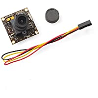 QWinOut 700TVL CCD FPV HD Camera 2.8mm Lens with 1/3 960H Exview HAD CCD II for DIY RC 250 Racing Quadcopter Drone FPV Photography - PAL
