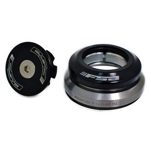 FSA Integrated Headset Orbit C-40 1-1/8 inch - 1.5 inch Tapered, Black XTE1519
