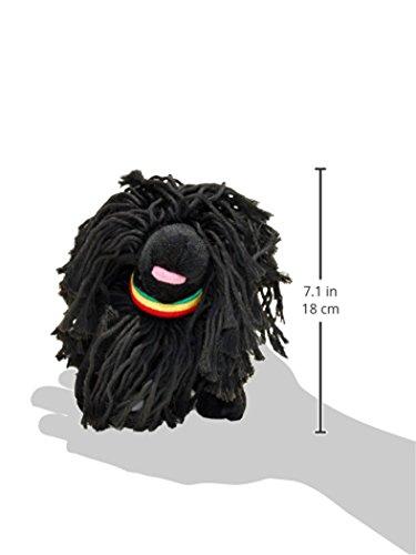 Image of fabdog Puli Rasta Dog Squeaky Toy