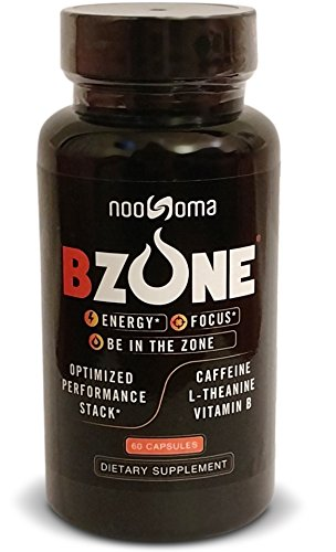 Caffeine with L-Theanine and Vitamin B - BZONE, The Ultimate Energy Nootropic Performance Supplement Stack The Ultimate Stack