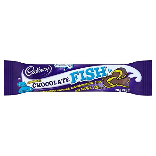 Cadbury Original Chocolate Fish Bar (20g) - Pack of 6