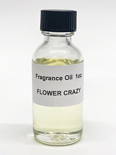 Flower Crazy Fragrance Oil Perfume Body Oil 1oz Alcohol-Free Made in the USA by Lieber's Candles