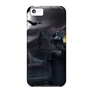 Cute Appearance Cover/tpu Rlv9087udHC House Of Darkness Case For Iphone 5c