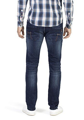 3059 Indigo Uomo Timezone dark Slim Jeans Eduardo Wash Blu qnqWwHZA