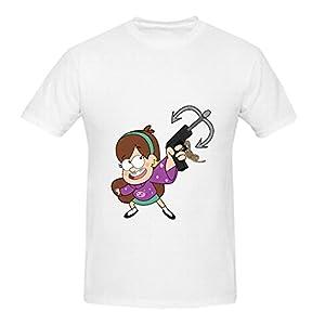 KARLEE Personalized O-Neck Gravity Falls Mabel Pines Men T-shirts