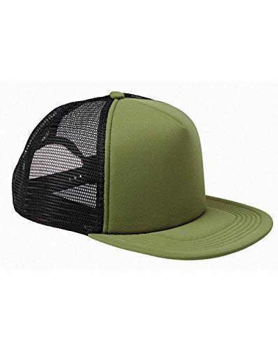 (BX FOAM FRONT TRUCKER CAP (OLIVE/BLACK) (OS))