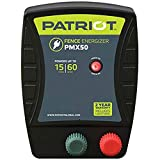 Patriot PMX50 Electric Fence Energizer, 0.50 Joule