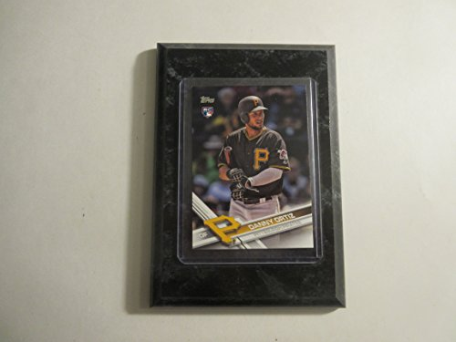 (Danny Ortiz Pittsburgh Pirates Topps 2017 Update Series player card mounted on a 4