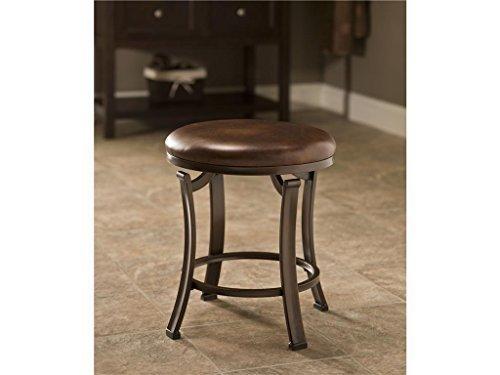 Hillsdale Furniture Hastings Backless Vanity Stool by Hillsdale Furniture by Hillsdale