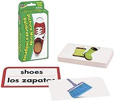 En//Sp Trend Enterprises Picture Words//Palabras E Imagines 56 Piece Pocket Flash Cards