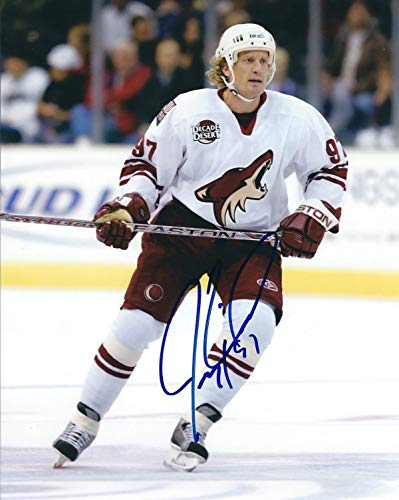- Autographed Signed Jeremy Roenick 8x10 Phoenix Coyotes Photo - Certified Authentic