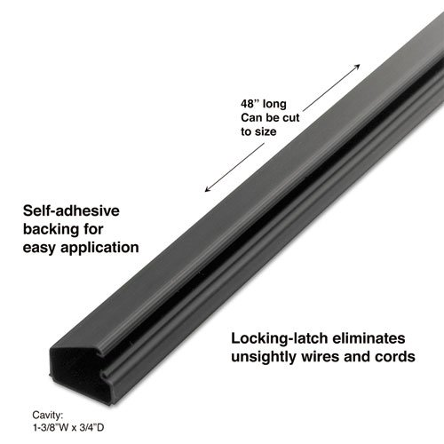 ster 1-1/2 Locking Channel (Master Caster Cord Away Channels)