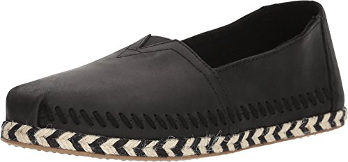 TOMS Seasonal Classics Black Leather 5