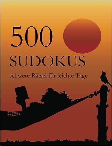 Book 500 Sudokus schwere Rätsel für leichte Tage
