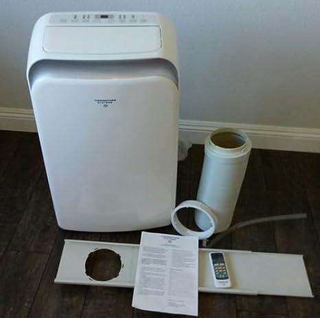 Thermocore T1-PAC-14,000 BTU aire acondicionado portátil, calor bomba y ionizador con sistemas Follow-Me mando a distancia y ventanas Kit: Amazon.es: Hogar