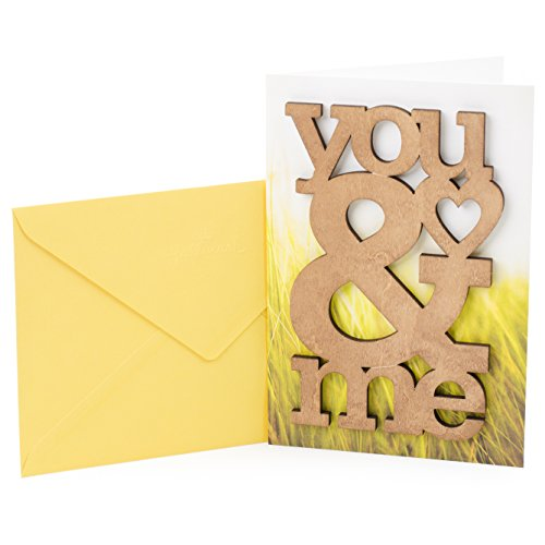 Hallmark Signature Anniversary Greeting Card (Wooden You & Me)