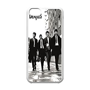 C-EUR Print The Beatles Pattern Hard Case for iPhone 5C
