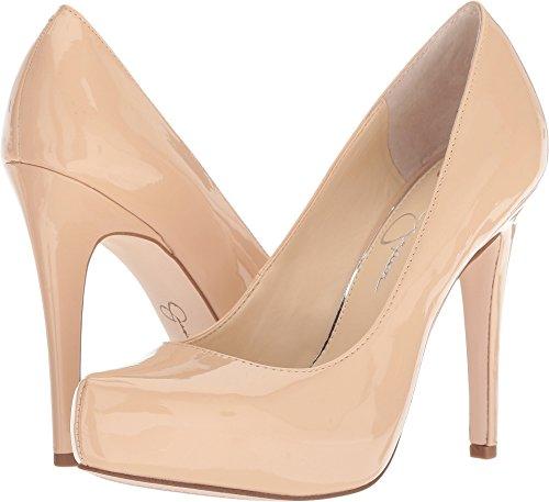 Jessica Simpson Women's Parisah Sand Dune Patent (7.5) (Jessica Platforms Leather)
