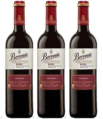 Vino tinto Beronia Crianza de 75 cl - D.O. La Rioja - Bodegas ...