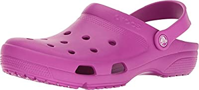 Crocs Unisex Coast Clog Vibrant Violet 12 Women / 10 Men M US Medium