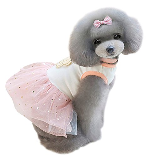 Uniquorn 2017 Spring Summer New Pet Clothes Cute Fashion Camellia Star Poncho Skirt Breathable And Comfortable Dog (Star Lord Costume Philippines)