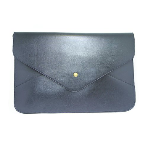 Clutch Purse PU Shoulder Envelope GALLERY Women Leather Black Bag Wallet YOUR XSq7Twa