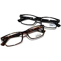 Casual Fashion rectangular anteojos de lectura lectores de–elegante simple RX Ampliación