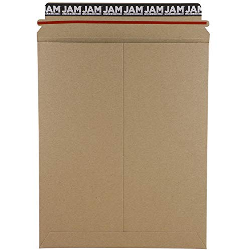 JAM Paper Recycled Photo Mailer Envelopes - 9 3/4