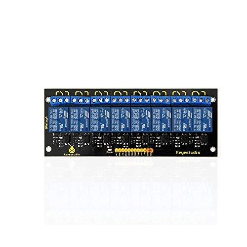 KEYESTUDIO 8-Channel 5V Relay Module for Arduino