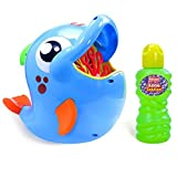Toys : Kidzlane Automatic Durable Bubble Blower Machine for Kids