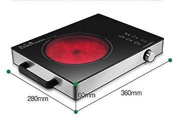 XIAOKUOAI estufa de cerámica eléctrica hogar chisporroteo cocina de inducción convección inteligente tecnología alemana e: Amazon.es: Hogar