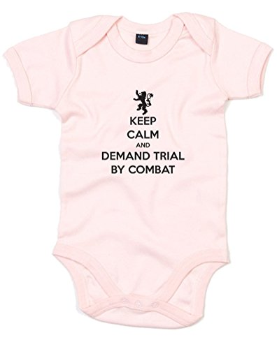keep-calm-and-demand-trial-by-combat-printed-baby-grow-powder-pink-black-6-12-months