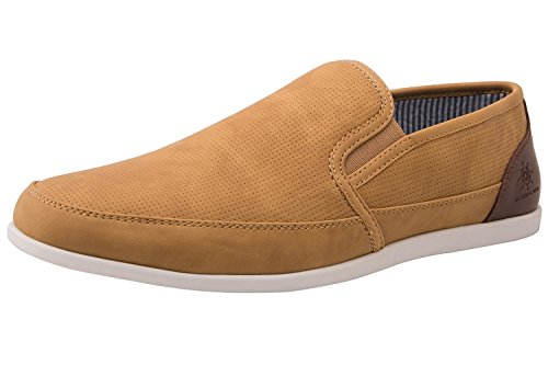 (GLOBALWIN 1813 Mens Casual Slip-on Loafer Shoes (9.5 M US Men's, 1812 Camel))