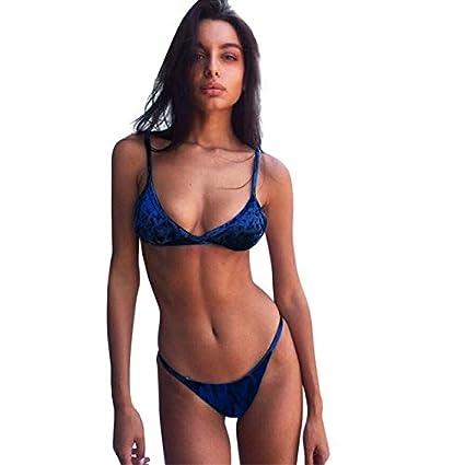 b5c35ad36d445 2019 Summer Mujer Bikini Women's Bikini S Sing Costumes Two Piece Swimsuit  Push-up Swimwear ISHOWTIENDA :, XL, China: Amazon.in: Sports, Fitness &  Outdoors