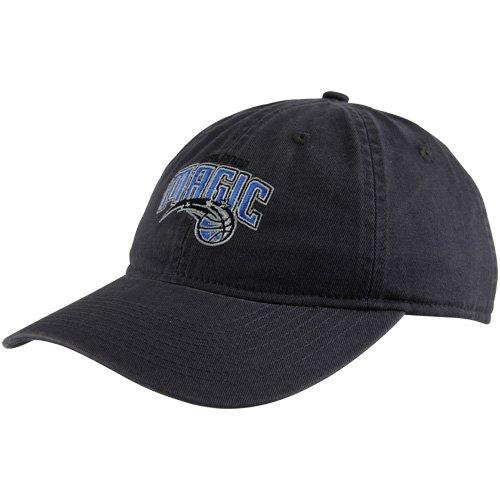 NBA adidas Orlando Magic Ladies Basic Logo Slouch Adjustable Hat - Navy Blue