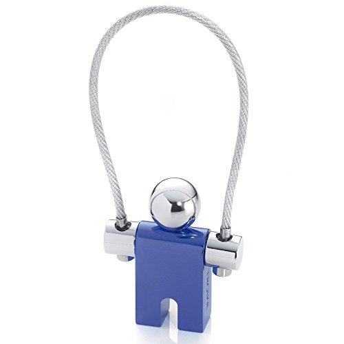 Troika Jumper Blue Keyring (KYR71DB)