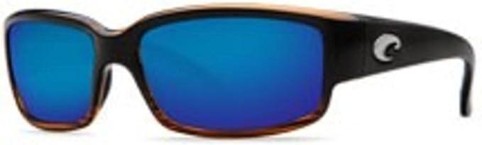 Costa Del Mar Tuna Alley Matte Sand Frame Blue Mirror 580G Glass Polarized Lens