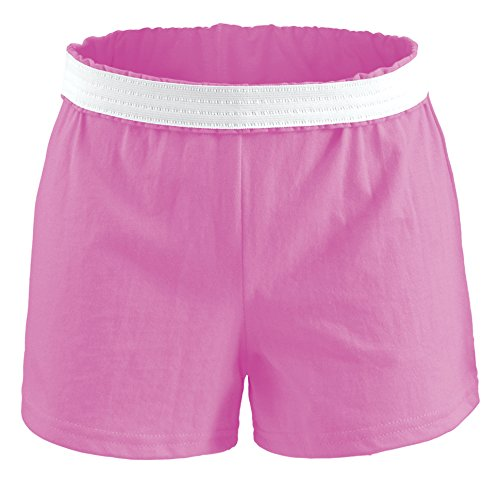 Cotton Pink Short - Soffe Juniors Athletic Short, Pink, X-Large