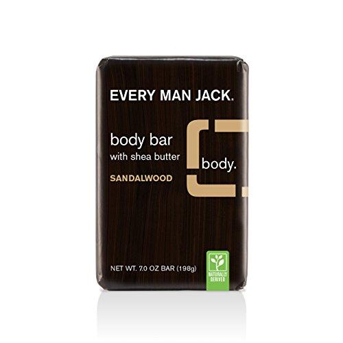 Every Man Jack Body Bar, Sandalwood, 7 Ounce