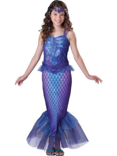 InCharacter Costumes Tween Mysterious Mermaid Costume, Blue/Purple,