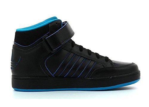 adidas Varial Mid J, Zapatillas de Skateboarding Unisex Bebé, Multicolor Negro / Azul (Negbas / Agufue / Negbas)