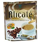 Alicafe Premium Instant 5 in 1 Coffee Drink with Oligofructose & Ginseng 300g. (20g.x15 Sachets)