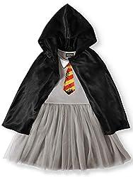 Slytherin Flip Sequin Dress with Detachable Hood