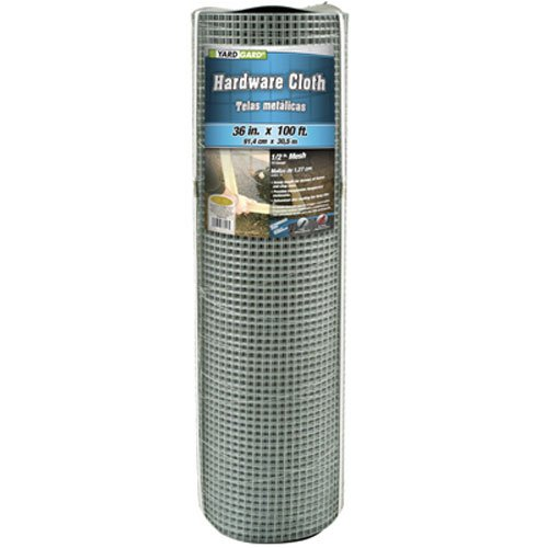 Mat Midwest Air 308243B Tech 36-Inch-by-100-Foot 1/2-Inch Mesh 19-Gauge Galvanized Hardware Cloth by Mat Midwest