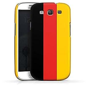 Carcasa Design Funda para Samsung Galaxy S3 i9300 / LTE i9305 PremiumCase white - Flag of Germany